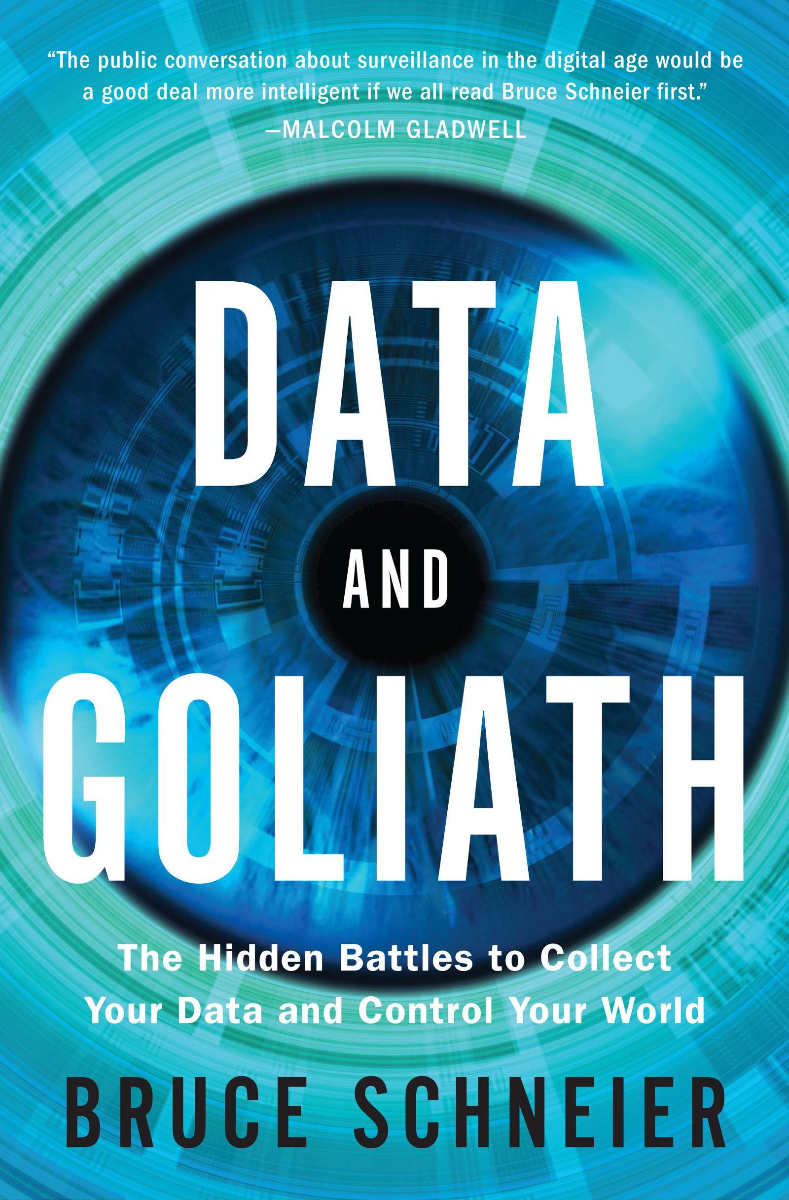 Data and Goliath book cover